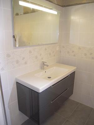 Meuble de salle de bain par michel fedeli